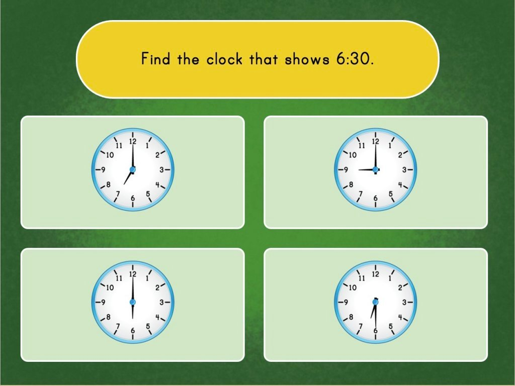 Telling Time with Clocks Game | Game | Education.com