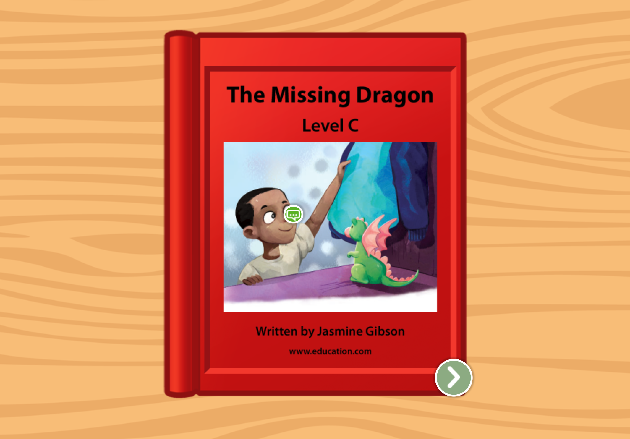 Kindergarten Reading & Writing Stories: The Dragon: Level C