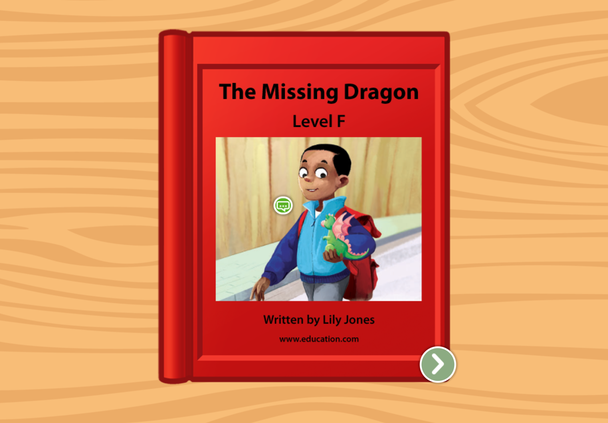1st grade Reading & Writing Stories: The Dragon: Level F