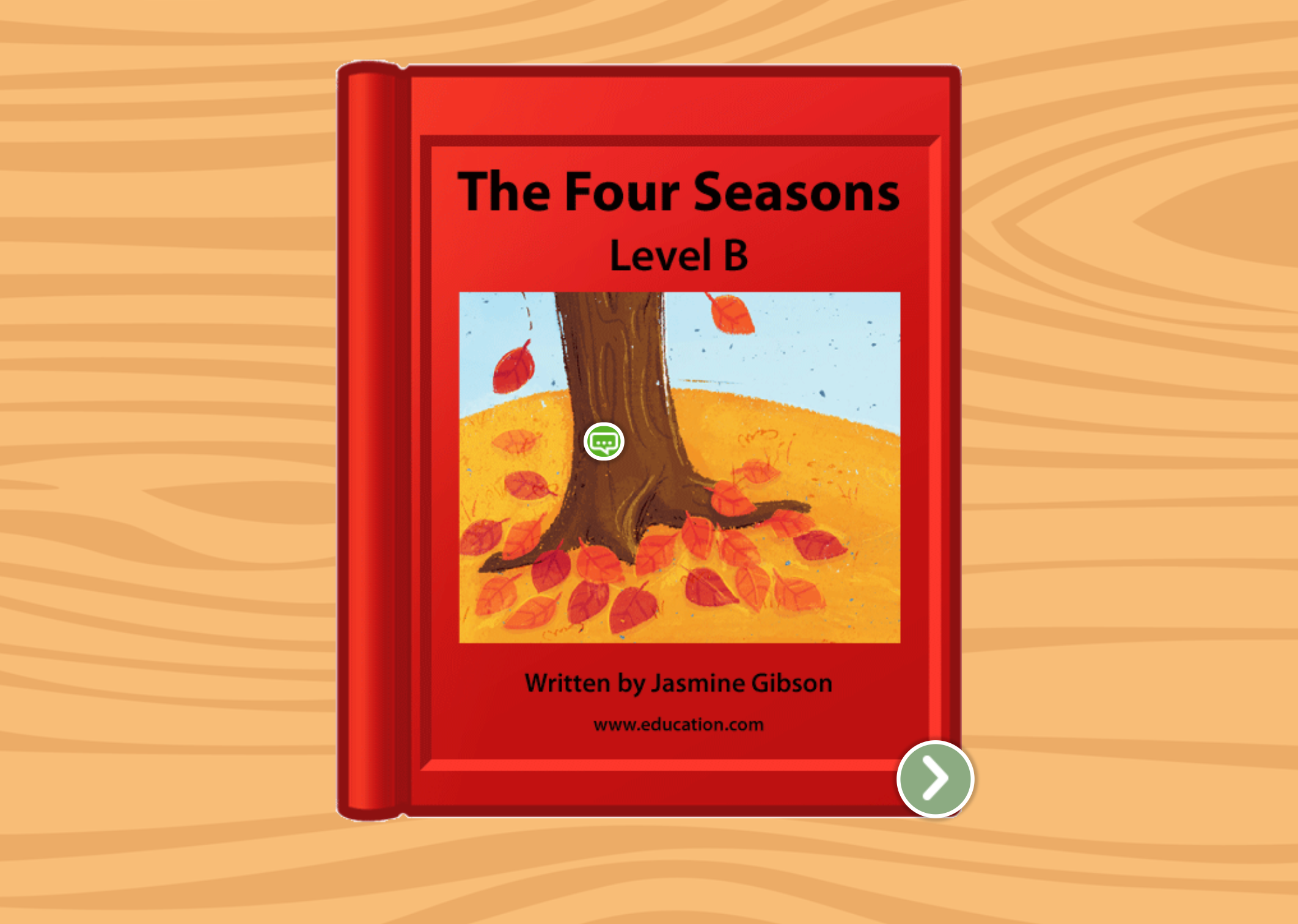 Kindergarten Reading & Writing Stories: The Four Seasons: Level B