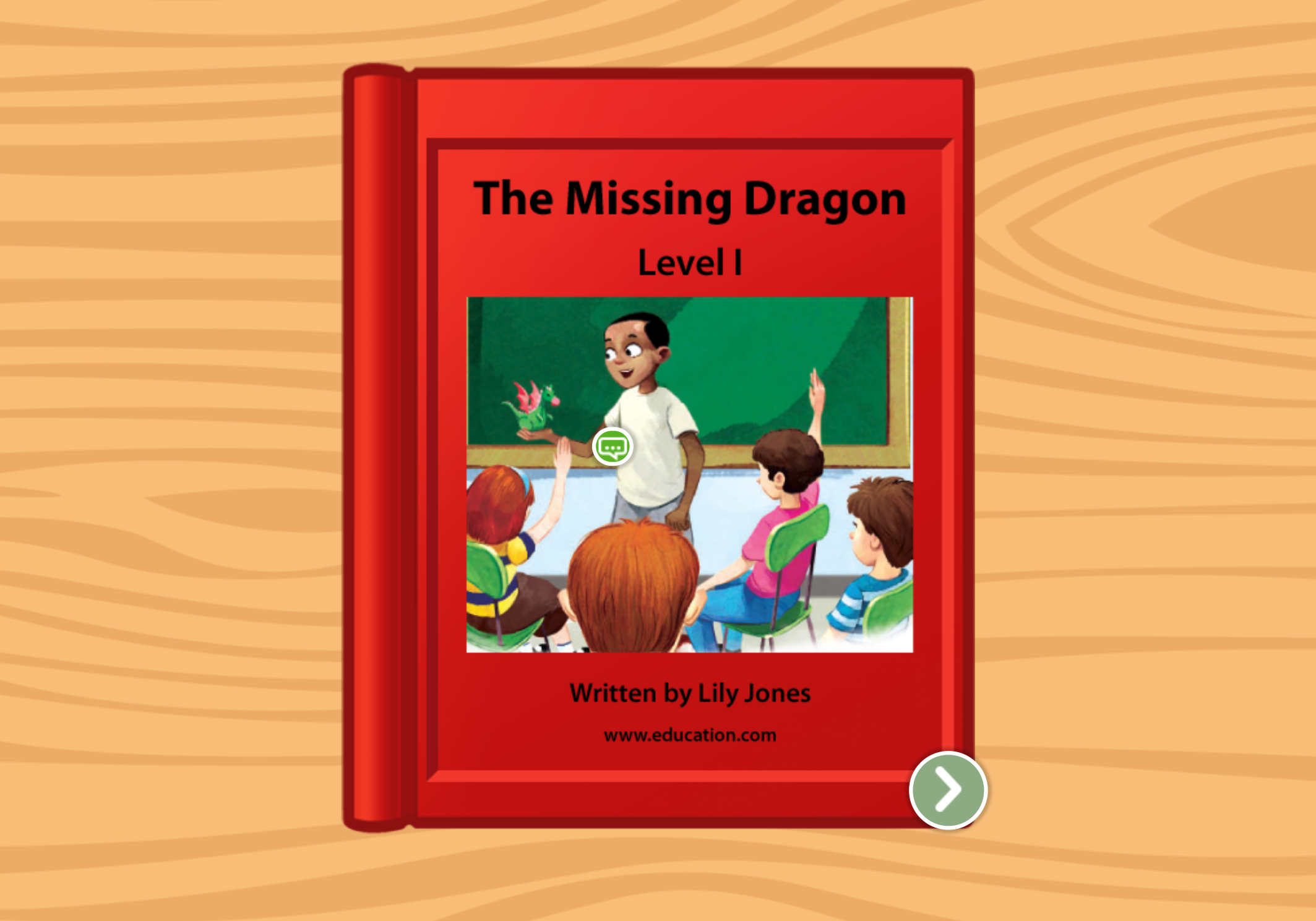 1st grade Reading & Writing Stories: The Missing Dragon: Level I