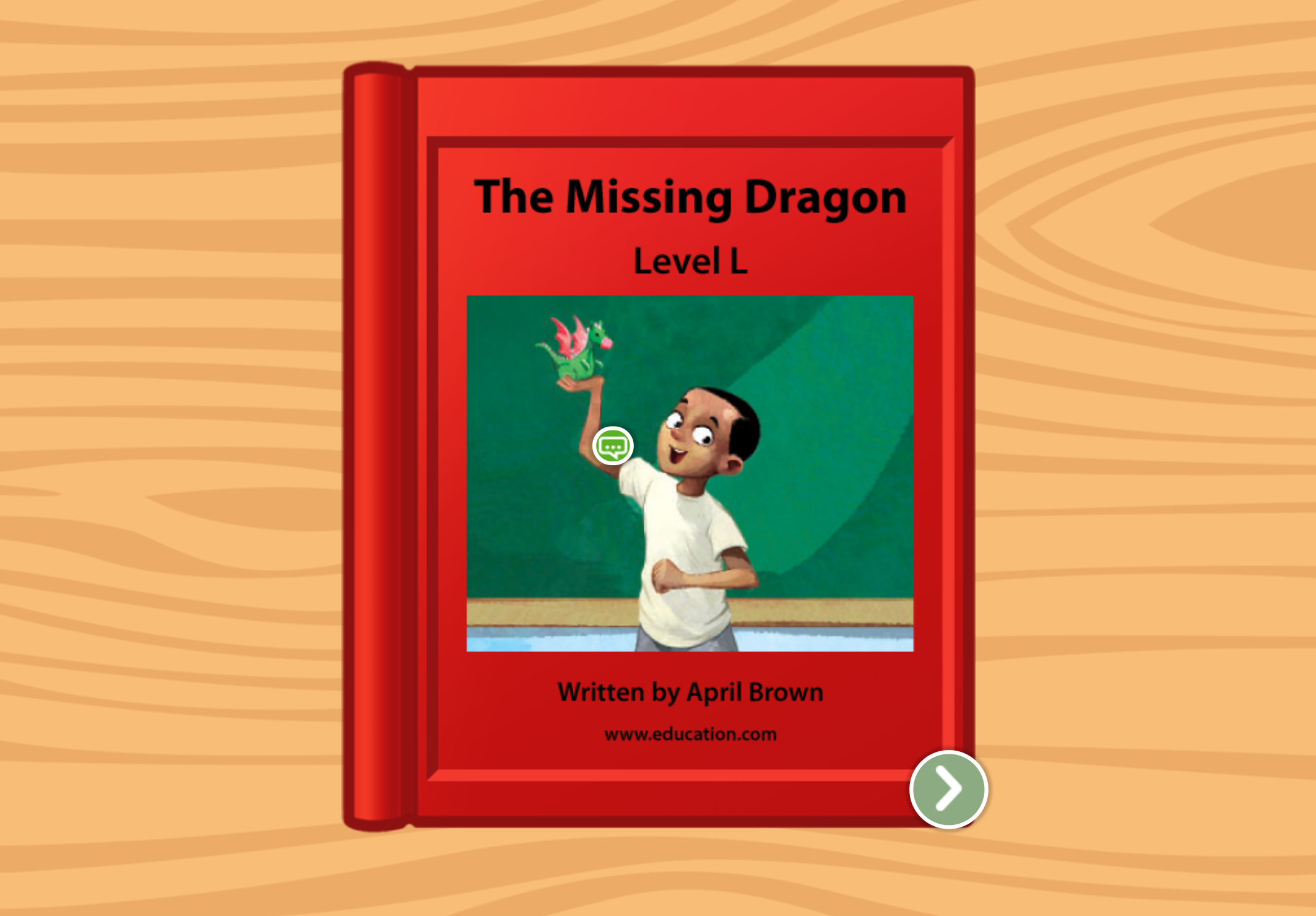 2nd grade Reading & Writing Stories: The Missing Dragon: Level L