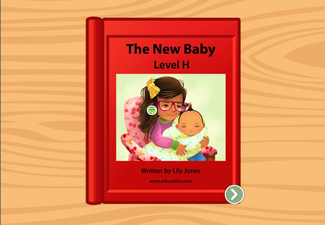 1st grade Reading & Writing Stories: The New Baby: Level H