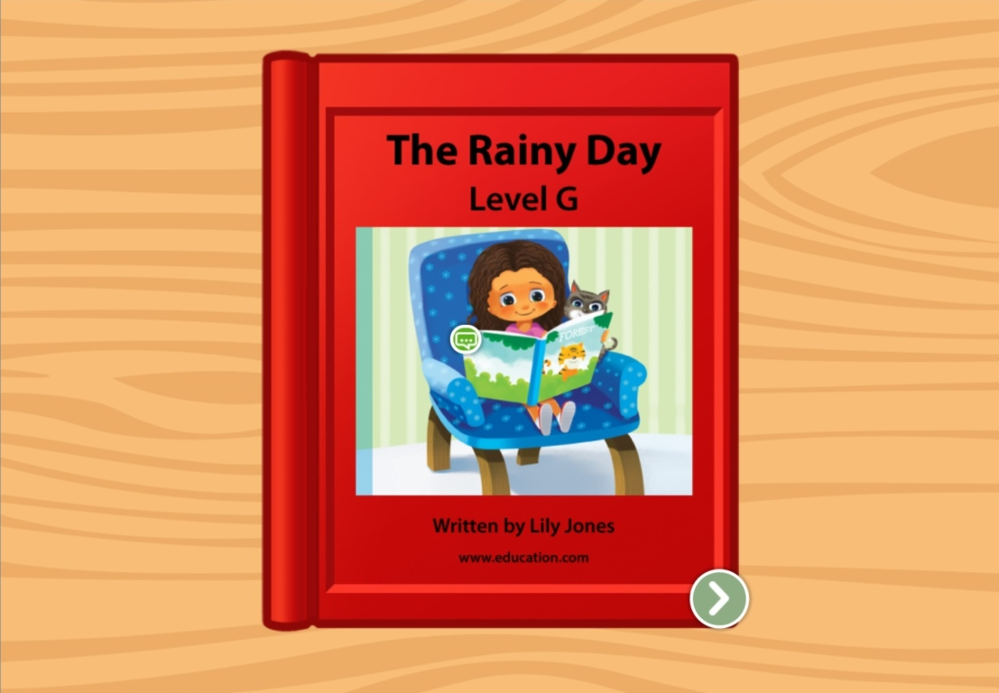 1st grade Reading & Writing Stories: The Rainy Day: Level G