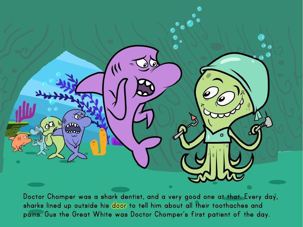 2nd grade Math Stories: The Shark Dentist