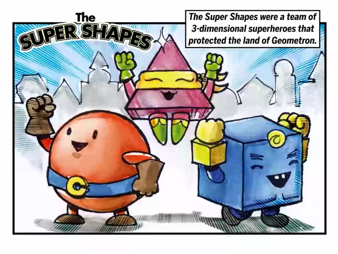 Kindergarten Math Stories: The Super Shapes