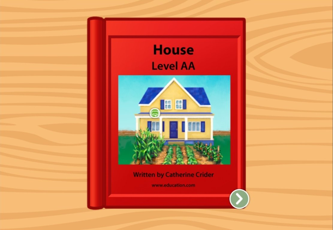 Preschool Reading & Writing Stories: This Is My House: Level AA