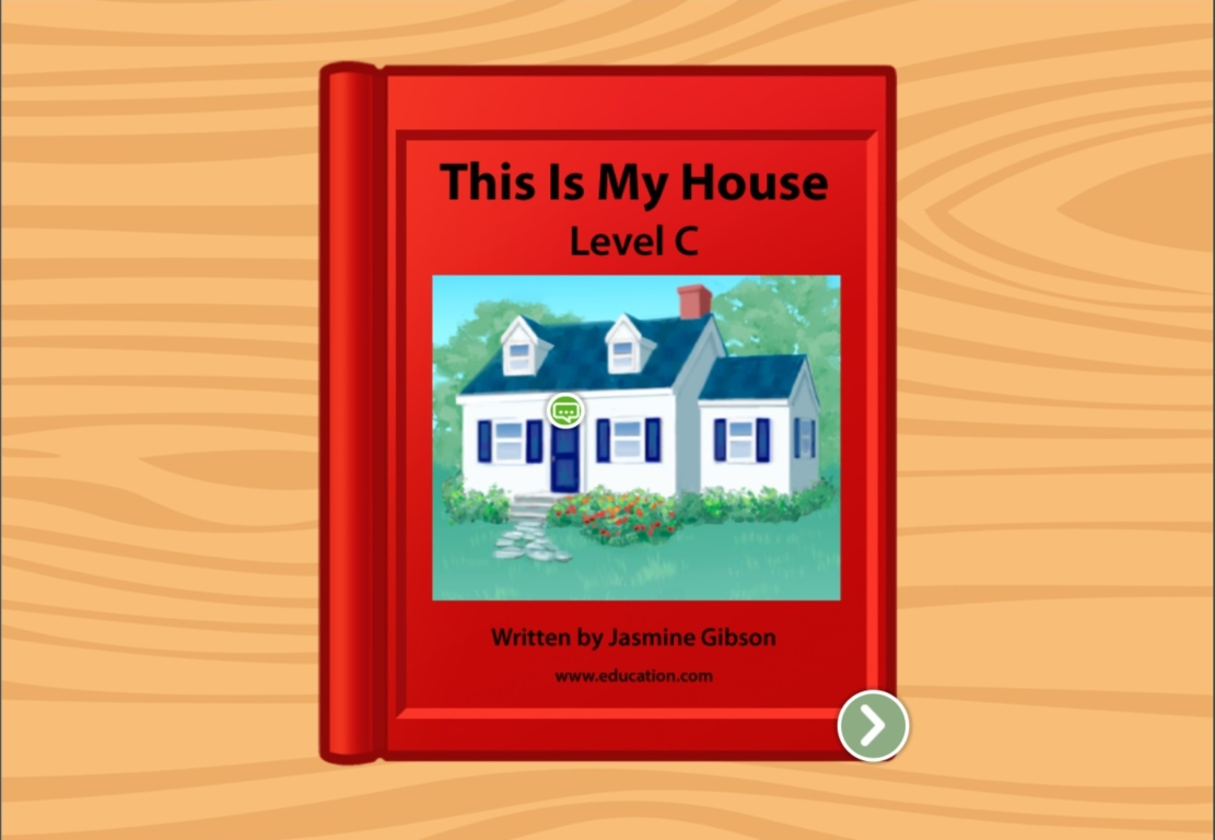 Kindergarten Reading & Writing Stories: This Is My House: Level C