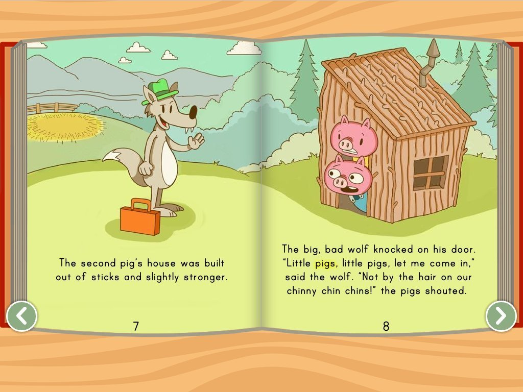 The Three Little Pigs Story Educationcom