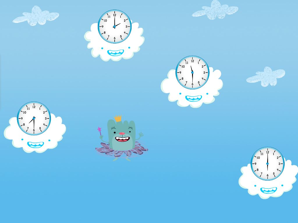 Tell the Time in the Sky Game | Game | Education.com