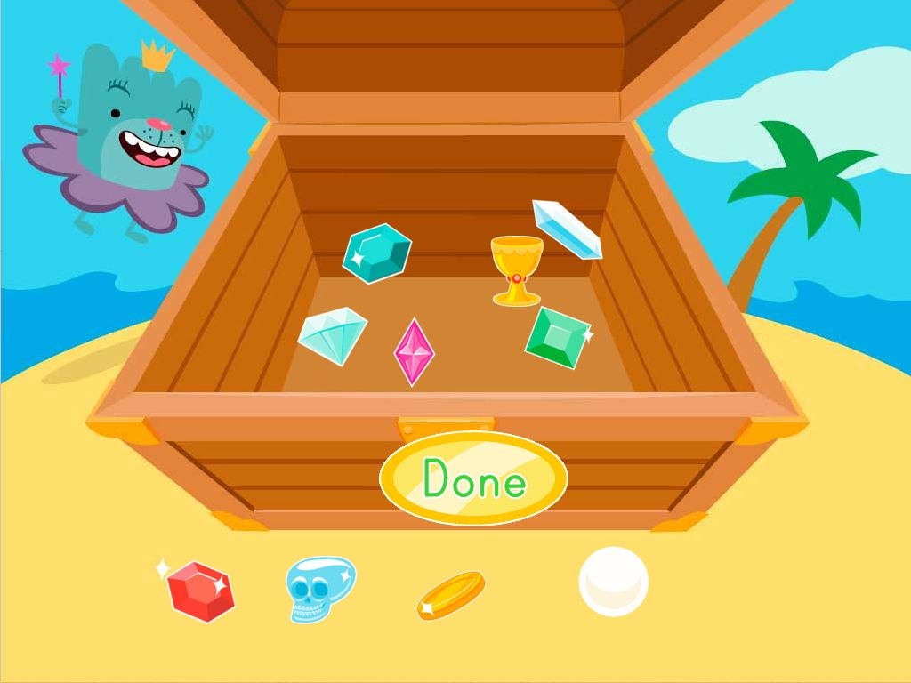 Subtraction Treasure Chest Game | Game | Education.com