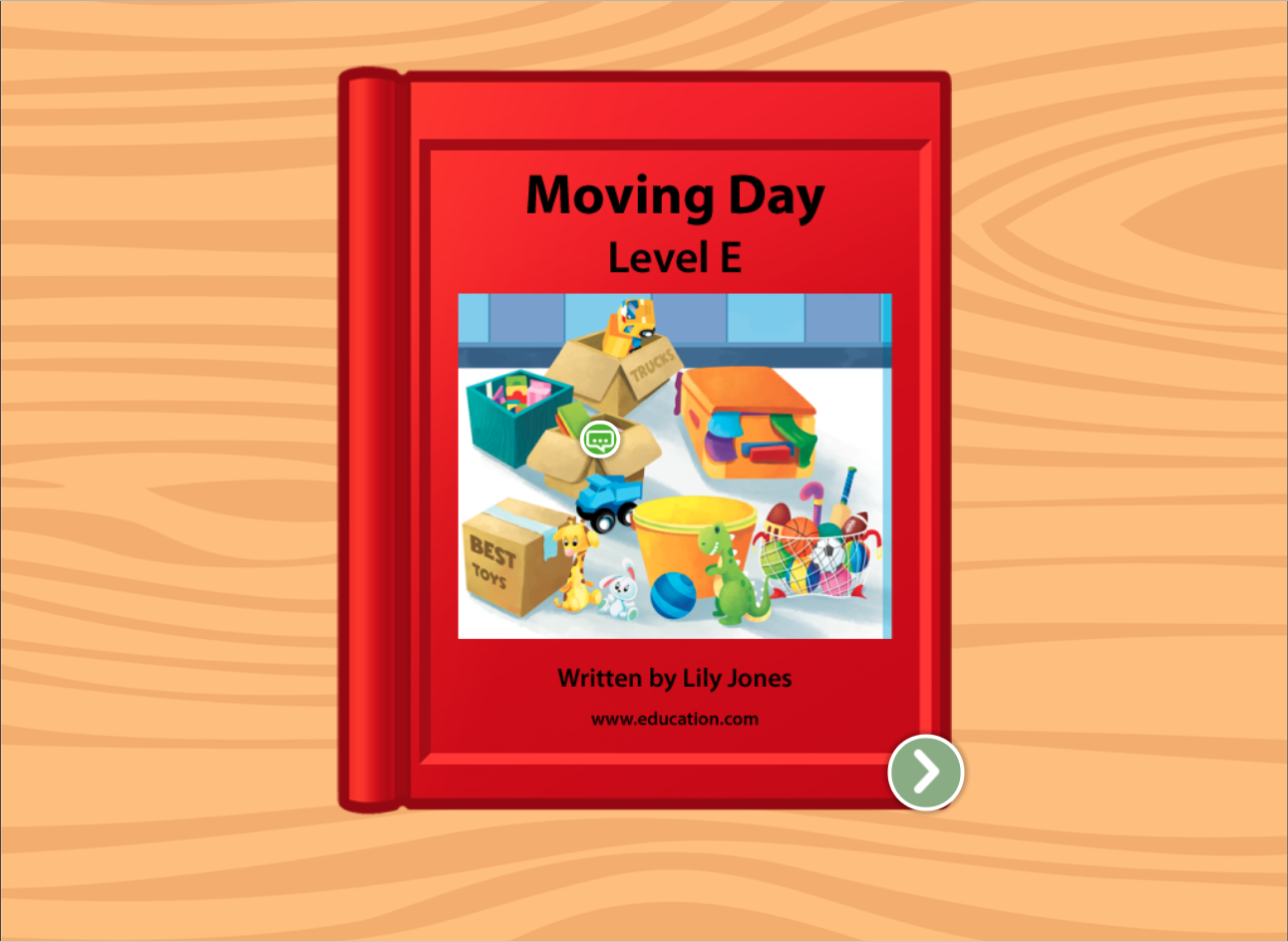 1st grade Reading & Writing Stories: We Are Moving: Level E