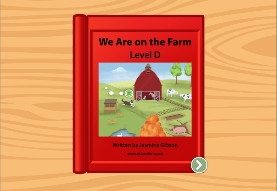 kindergarten Reading & Writing Stories: We Are on a Farm: Level D