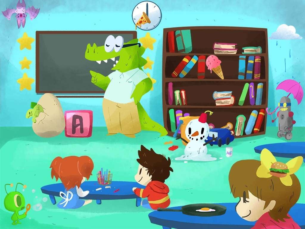 Preschool Math Games: What Doesn't Belong?
