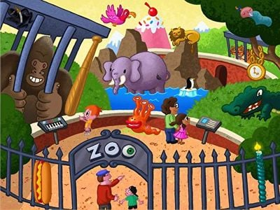 Find the Zany Zoo Objects