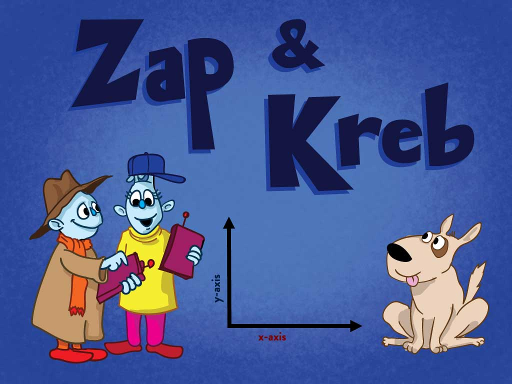 3rd grade Math Games: Zap and Kreb: Graphing Word Problems