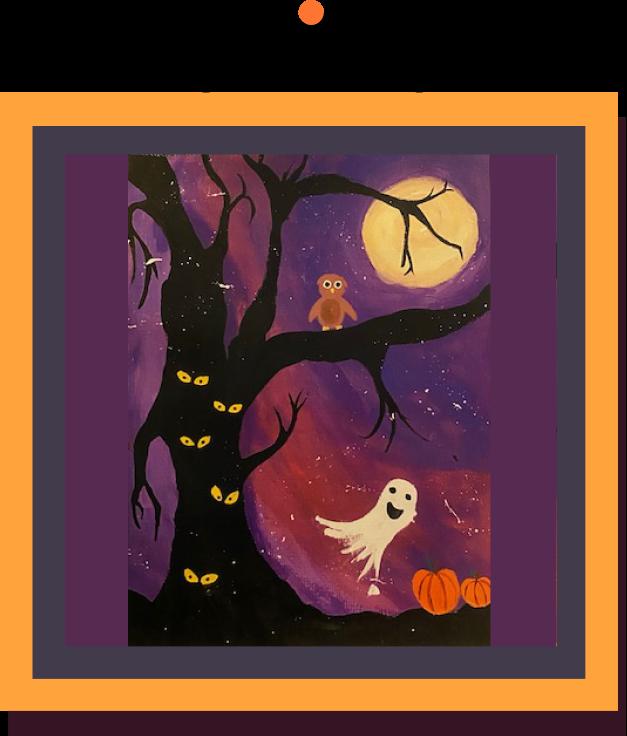 Halloween Wall of Fame Winning Art