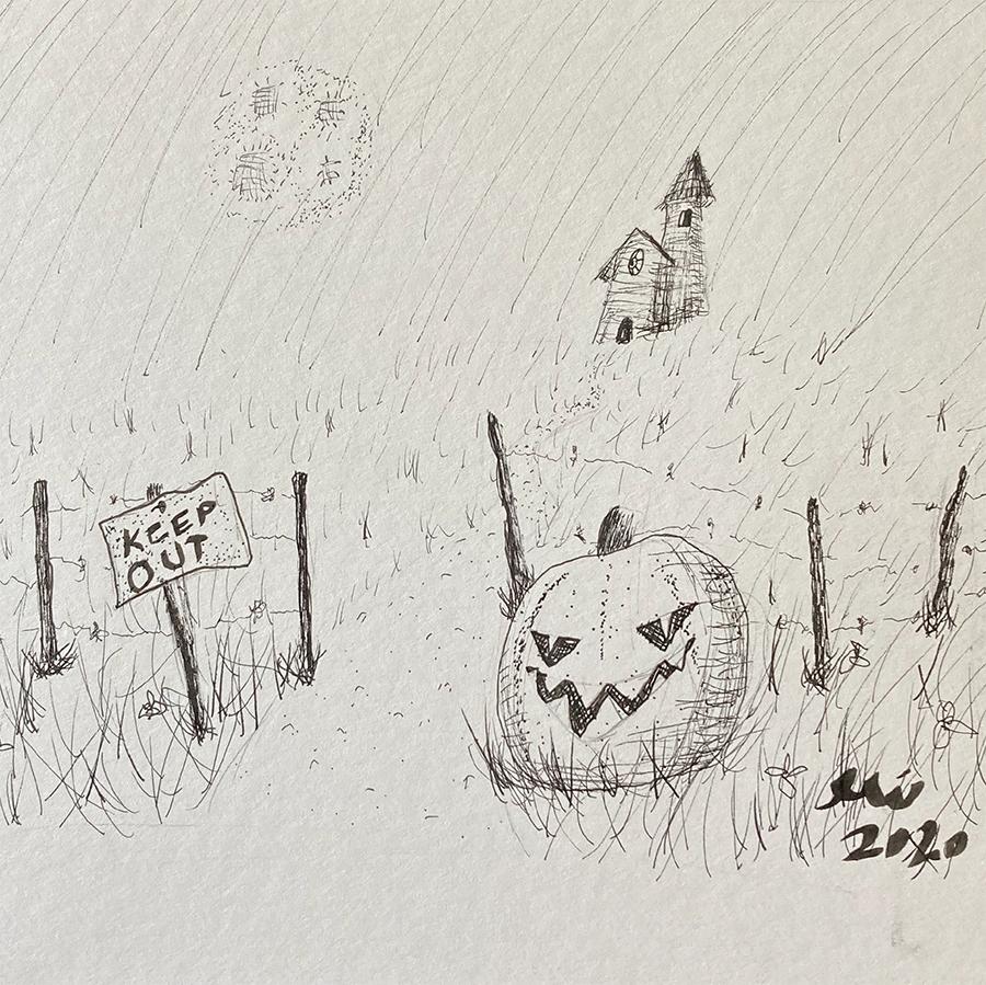 Halloween Wall of Fame Featured Art