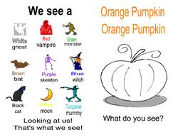 Orange Pumpkin Booklet