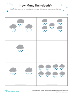 Printable Worksheets rainy day worksheets : A Rainy Day Experiment | Lesson Plan | Education.com