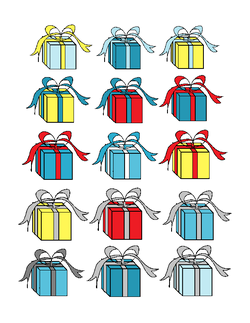 Gift Bingo Counters
