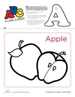 ABC Flashcard Example