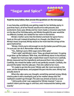 """""""Sugar and Spice"""""""