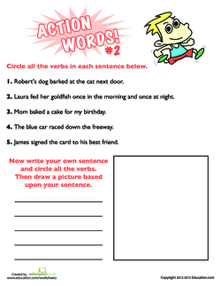 Action Words #2