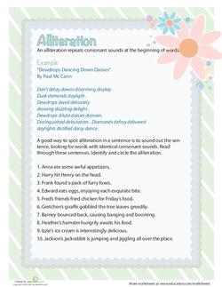 Alliteration for Kids