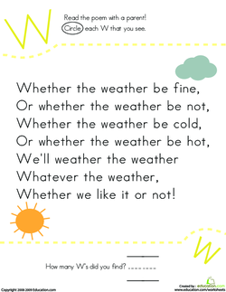 Whether the Weather