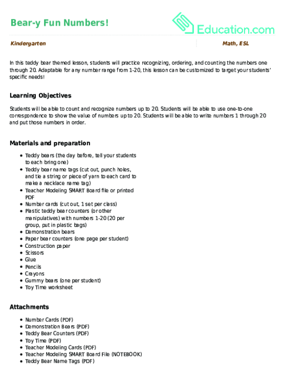Tracing Numbers Counting 20 Worksheet – Make Your Own Tracing Worksheets