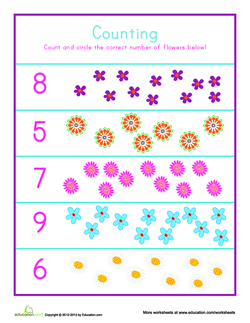 Flower Counting
