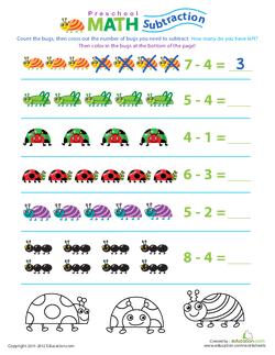 Bug Math Practice