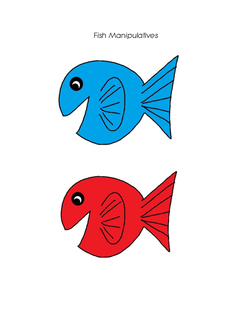 Catch those fish lesson plan for One fish two fish read aloud
