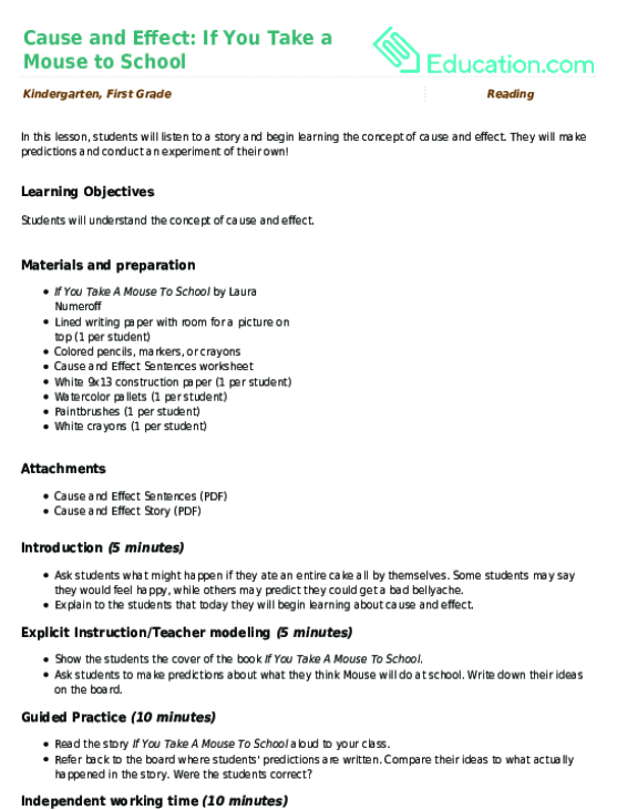 Brrrr Clothing Cause and Effect Worksheet – Cause and Effect Kindergarten Worksheets
