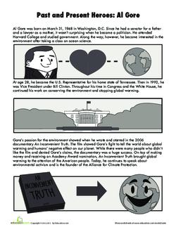 Environmental Heroes: Rachel Carson and Al Gore