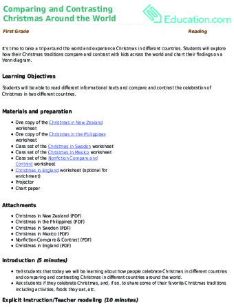 Christmas lesson plans education christmas lesson plans spiritdancerdesigns Image collections