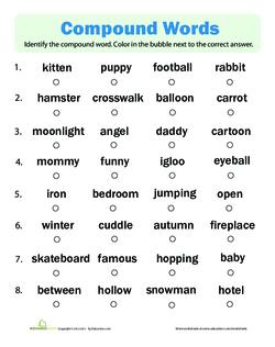 Identify Compound Words