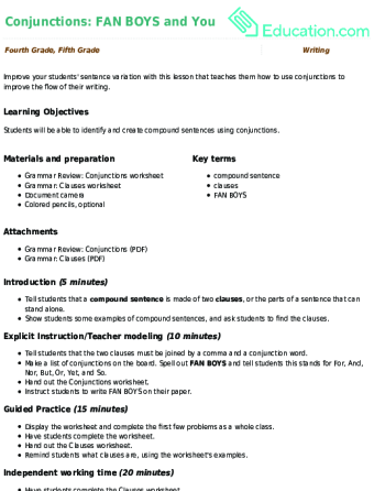 Types Of Sentences Education