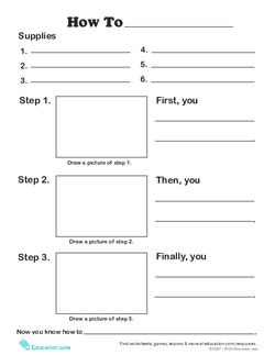 How-to Writing Template