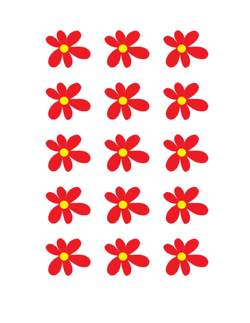Flower Manipulatives