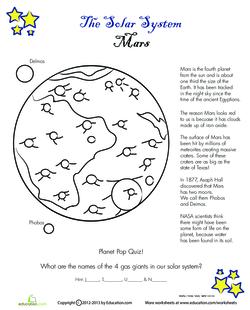 Solar System: Mars