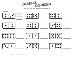 Dominoes playing instructions