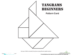 Easy Tangrams Puzzle #10