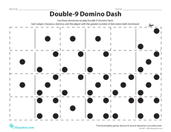 Double-9 Domino Dash