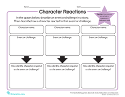 Character Reactions