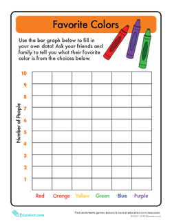 Bar Graphs: Favorite Color