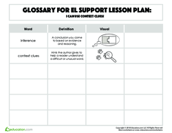 Glossary: I Can Use Context Clues!