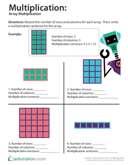Multiplication: Array Multiplication (Part One)