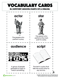 Parts of a Drama | Lesson plan | Education com